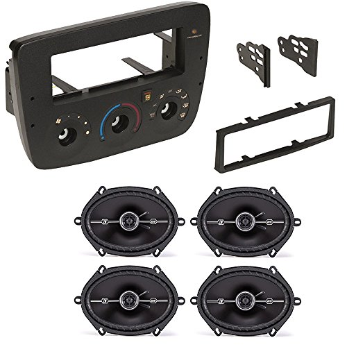 FORD MERCURY 2000- 2007 CAR CD STEREO RECEIVER DASH INSTALL MOUNTING KIT WIRE HARNESS AND SPEAKERS by American International, Metra