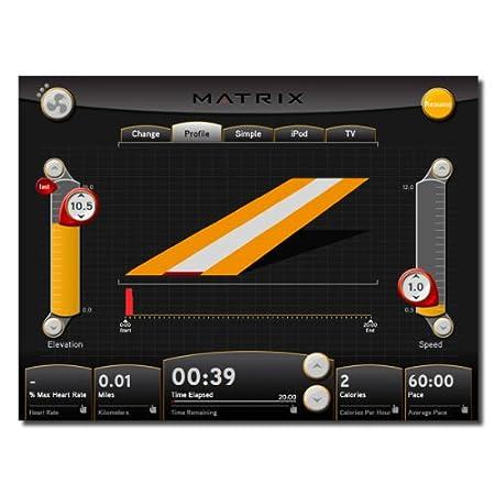 Matrix Tapis De Course T7 X E Avec Virtual Active Amazon Fr Sports