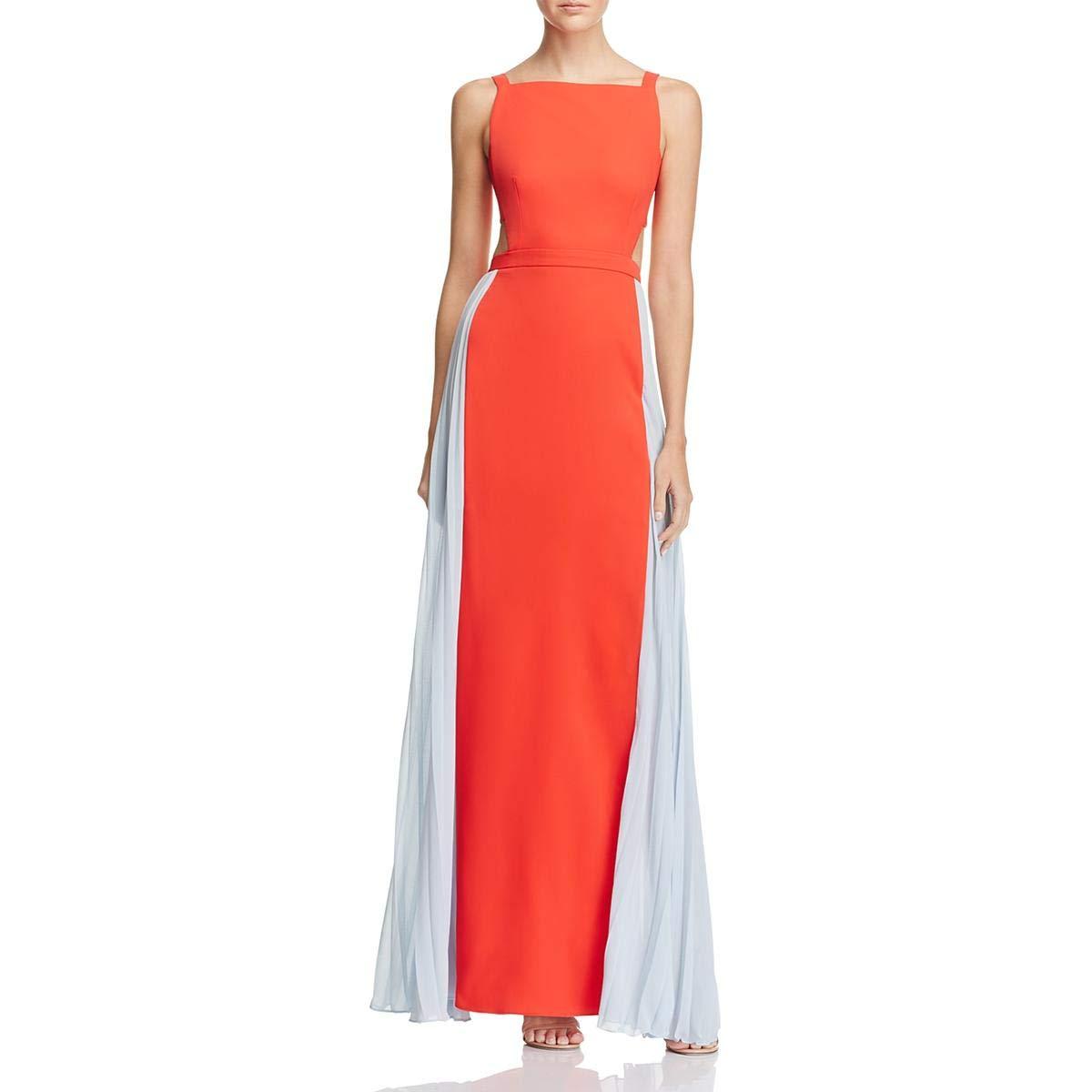 BCBGMAXAZRIA Womens Micaila Woven Evening Dress