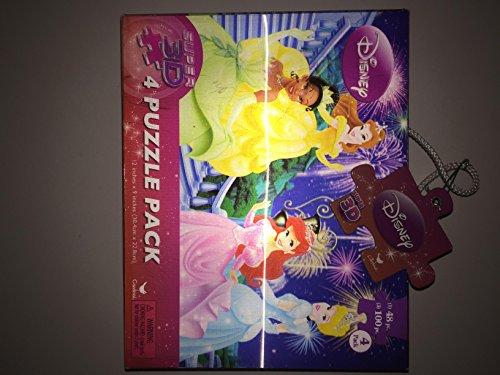 Sambro Disney Princess Assorted Super 3D Puzzles by Sambro