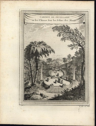 china-ceremony-for-the-dead-feasting-open-air-c1757-antique-engraved-print