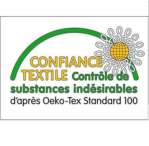 Taie 40x60 Parure 100/% Coton pour lit /à barreaux ou lit B/éb/é//Junior /évolutif Z/èbre Bleu Parure de lit Housse de Couette 100x135