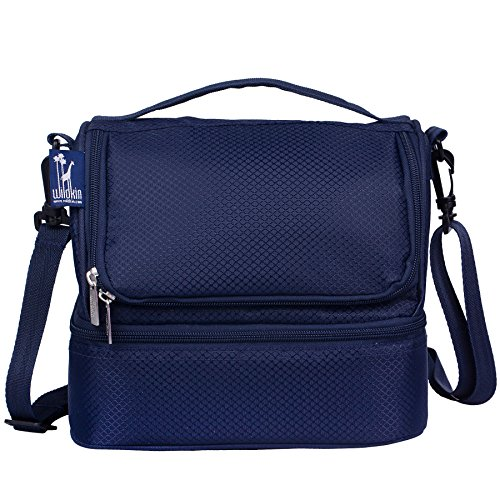 Wildkin Rip-Stop Blue Two Compartment Lunch Bag
