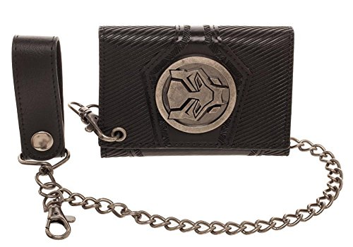 (Bioworld Marvel Black Panther Wallet with Detachable Chain)