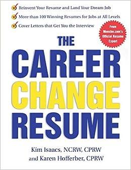 The Career Change Resume by Karen Hofferber (2003-05-14)