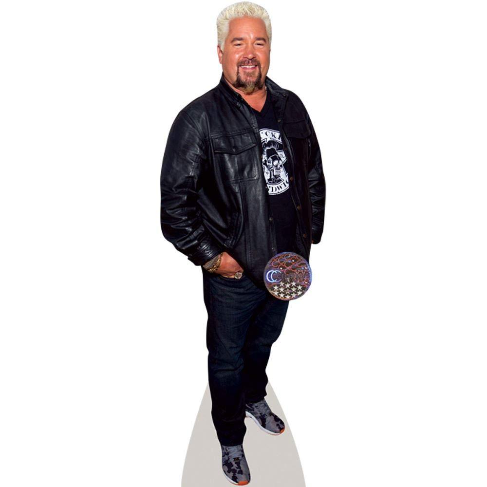 Guy Fieri (Leather Jacket) Life Size Cutout