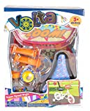 Volta Super Speed Style Bicycle Decorations & Accessories – Compatible with Nearly All Bikes – Includes Spoke Beads, Stickers, Seat Cover, Bell, Flag, Mirrors, and More – 45 Pieces