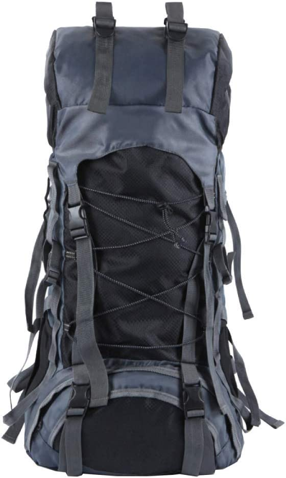 Color : Black 322870cm XIAOXIANNV Travel Leisure Backpack Men and Women Outdoor Sports Backpack Capacity Backpack 56-75L Tactical Backpack Mountaineering and Adventure