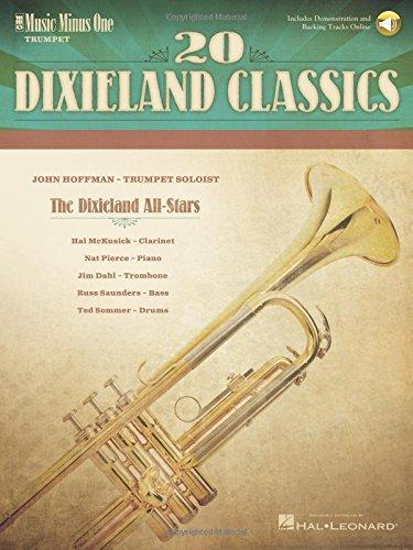 20 Dixieland Classics: Music Minus One Trumpet (Dixieland Sheet Music)