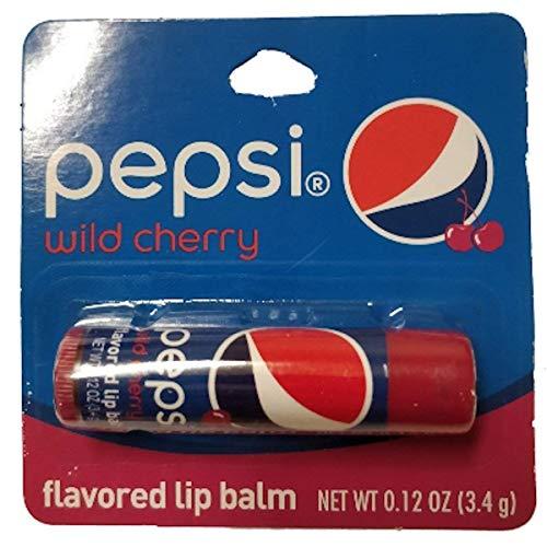 (Taste Beauty Pepsi Wild Cherry Flavored Lip Balm 0.12 oz (Pack of 1))
