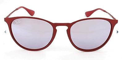Amazon.com: Ray-Ban 0rb3539 Ronda anteojos de sol, Rojo, 54 ...