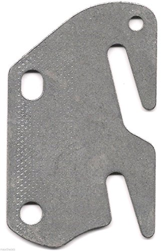 - Bed Rail Double Hook Flat Plate Fits 2
