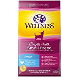 wellness dog food core - Wellness Complete Health Natural Dry Small Breed Senior Dog Food, Turkey & Peas, 4-Pound Bag