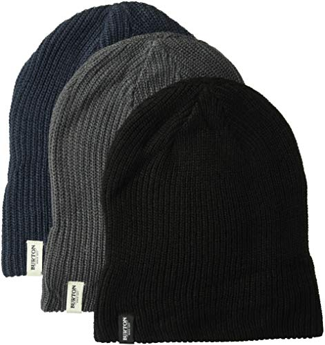 06bede7bb3f Burton DND Beanie 3 Pack True Black Trocadero Mood Indigo NEW   Ships FREE  From The USA