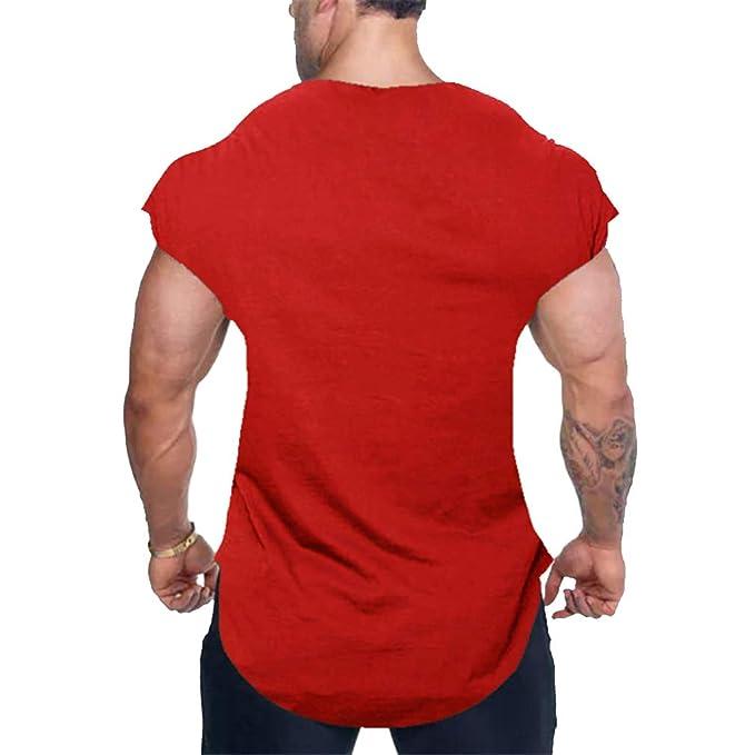 JiXuan Fitness Débardeur Hommes Gyms Stringer Muscle Shirt Workout Gilet  Culturisme sans Manches T-Shirt Singlets  Amazon.fr  Vêtements et  accessoires 16d97fd73c9