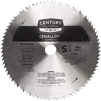 Best 5 12 in 30t circular saw blade c3 carbide grade w anti century drill and tool 08253 cenalloy all hard steel plywood circular saw blade 5 keyboard keysfo Images