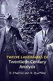 Twelve Theorems of Twentieth Century Analysis, Choimet, Denis and Queffélec, Hervé, 1107059453