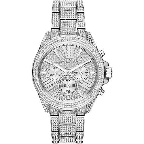 Michael Kors Watches Wren Stainless Steel Chrono Watch