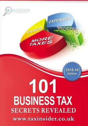 Download 101 Business Tax Secrets Revealed 2015/16 pdf epub