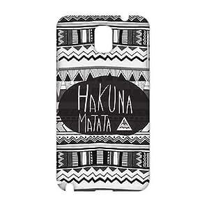 CCCM coque iphone 5 hakuna matata 3D Phone Case for Sumsung Note 3