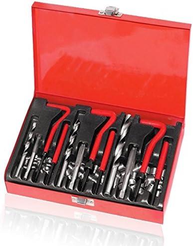 HG/® 88 tlg Rubinetti per filetti Inserti Inserti manicotto Kit riparazione utensile M6 M8 M10 NUOVO