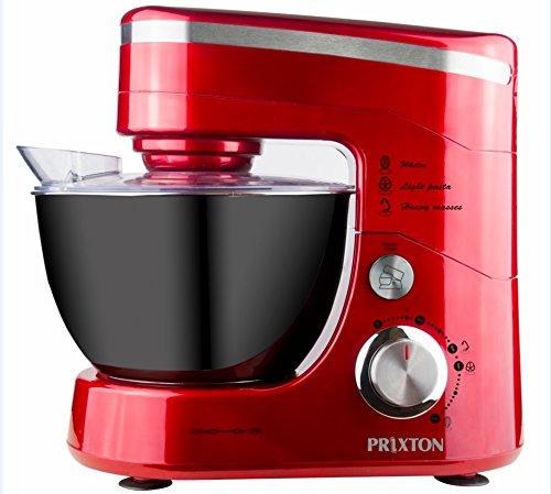 Kitchen + Batidora amasadora orbital 4,5l 600W roja.: Amazon.es: Hogar