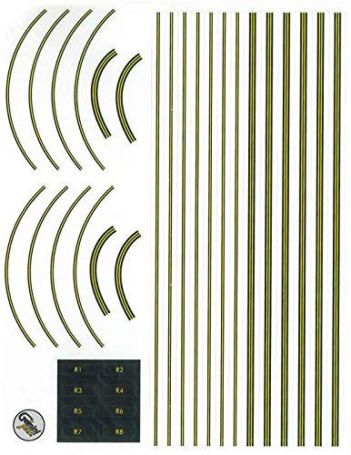 Gemini Jets Graphic Decal Sheet For Airport Terminal Set (Renewed) ()