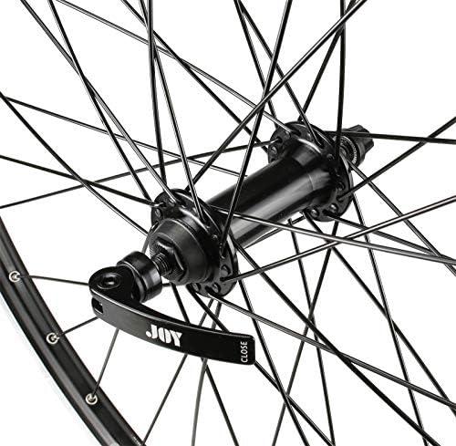 CyclingDeal VENZO Bicycle MTB Wheelset 26 6 Speed with Shimano MF-TZ500-6 14-28T Freewheel