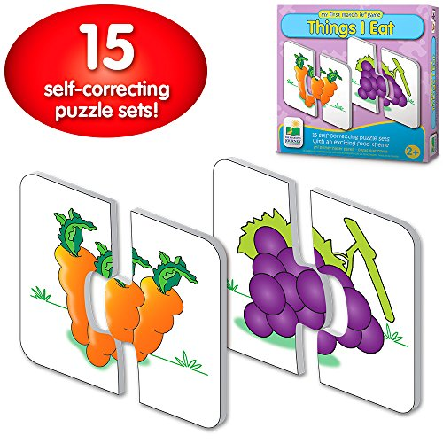 - The Learning Journey: My First Match It - Things I Eat - 15 Self-Correcting Food Themed Image Matching Puzzles