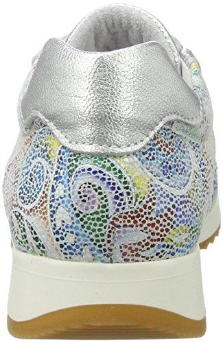 Black 236 507, Baskets Femme, Mehrfarbig Multicolore (White Multi)
