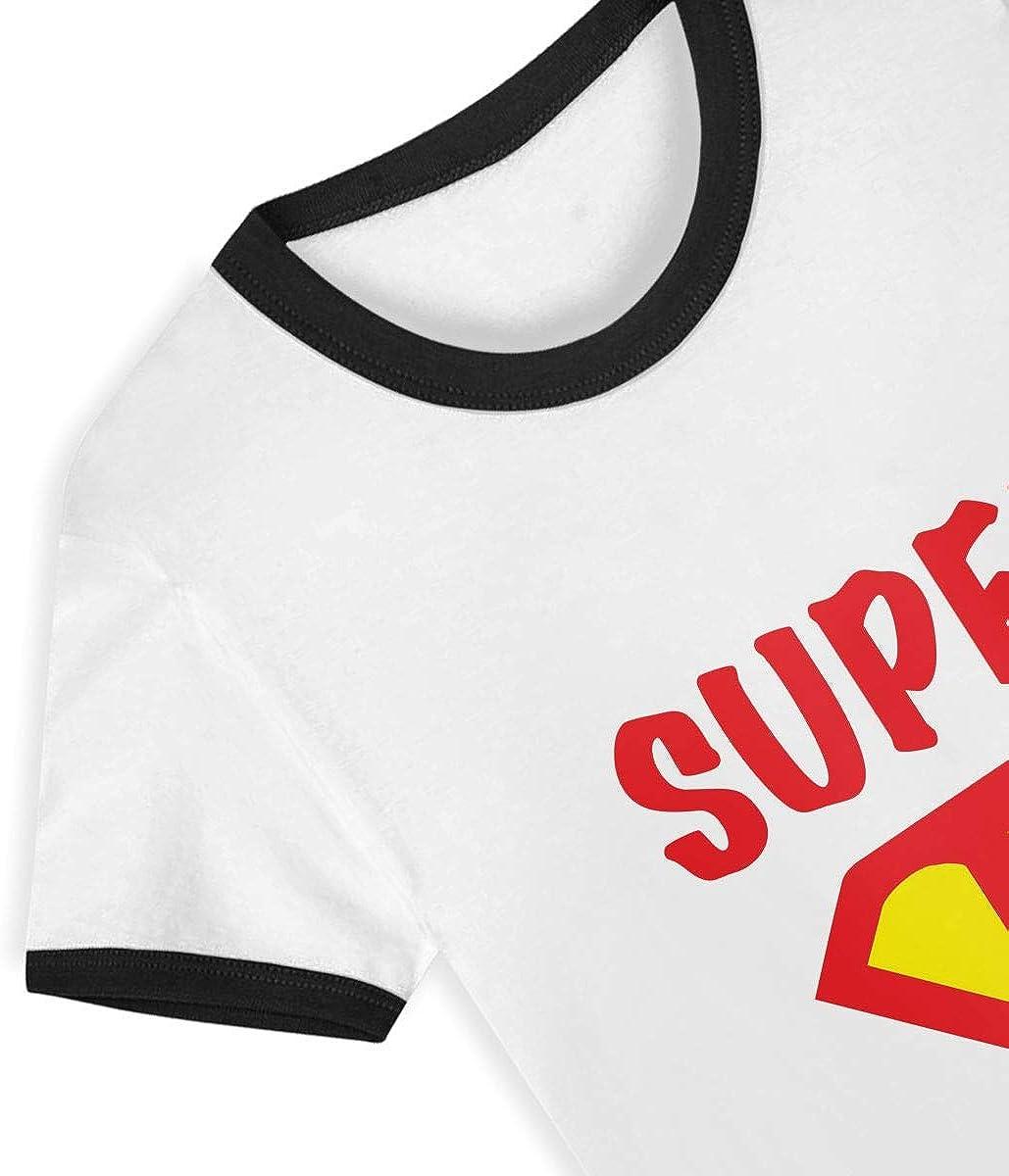 HIGASQ Unisex Baby Super Dentist O Neck Toddlers Short Sleeve Baseball T Shirt for 2-6 Boys Girls