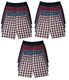 Hanes Men's 12Pack Assorted Plaid Boxer Shorts Boxers Underwear 5XL