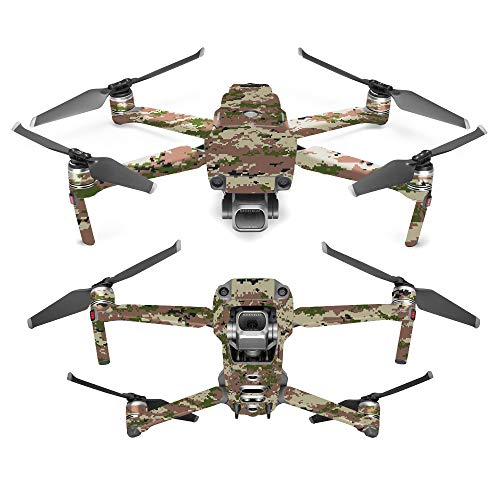 MightySkins Skin for DJI Mavic 2 Pro or Zoom - Urban Camo | Protective, Durable, and Unique Vinyl Decal wrap Cover | Easy to Apply, Remove, and Change Styles | Made in The USA