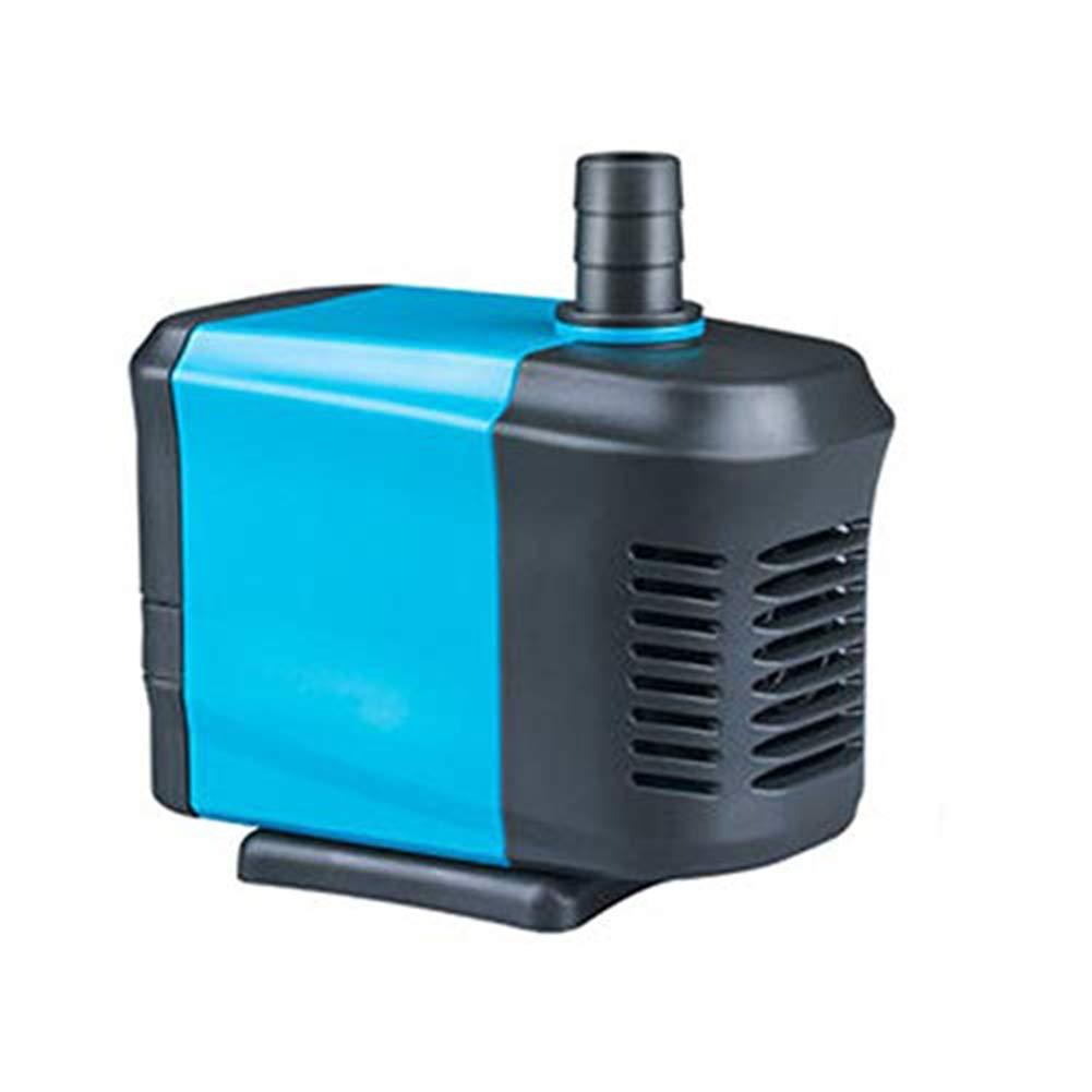 Black 40WLIFUREN Fish Tank Oxygen Pump Submersible Pump Silent Filter Pump Circulating Pump Small Water Pump Pump (color   Black, Size   65W)