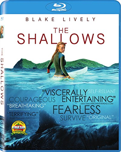 Blu-ray : The Shallows (Ultraviolet Digital Copy, Dubbed, , Widescreen, Dolby)