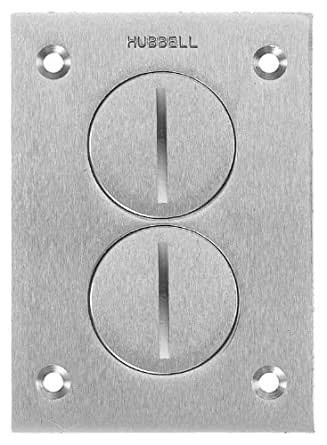 Hubbell Wiring Systems Sa3625 Aluminum Round Floor Box