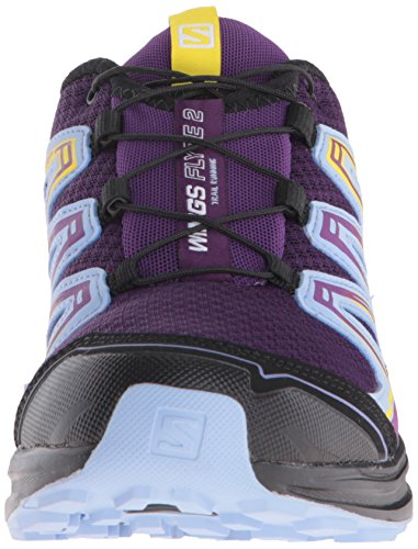 Salomon Flyte Trail Morado de para 2 Calzado Purple Mujer Running Wings 77gTOr