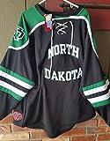University of North Dakota UND Fighting Sioux Hockey Jersey Black 2013 style Large size