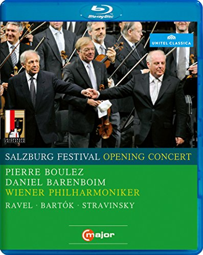 Salzburg Festival Opening Concert 2008 (Blu-ray)