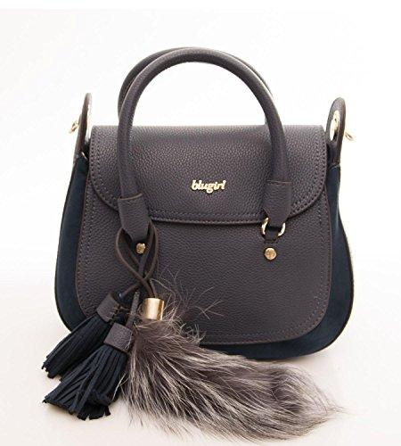 Blugirl Borsa Donna Roxie Double Handle W flap Blu
