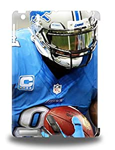 Premium Protection NFL Detroit Lions Calvin Johnson #81 3D PC Case Cover For Ipad Air Retail Packaging ( Custom Picture iPhone 6, iPhone 6 PLUS, iPhone 5, iPhone 5S, iPhone 5C, iPhone 4, iPhone 4S,Galaxy S6,Galaxy S5,Galaxy S4,Galaxy S3,Note 3,iPad Mini-Mini 2,iPad Air )