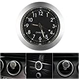 "ONEVER Car Clock, Car Air Vent Quartz Clock Mini Vehicle Dashboard Clock, 1.7"" Diameter"