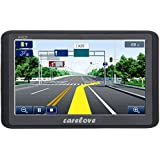"""Carelove 7"""" Silky Appearance Car GPS Navigation 8G 256M Touch Screen Multimedia Player Lifetime Free Map Update"""