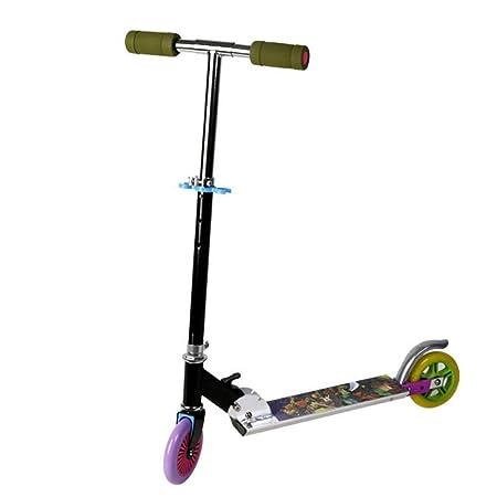 Yunfeng Patinete Niños Vespa de Altura Ajustable Pedal de ...