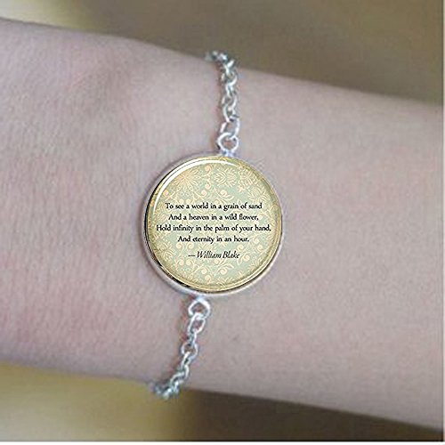 hars Custom Quote Bracelets, Personalized Jewelry for Poem, Song Lyrics, Or Text