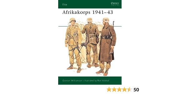 Afrikakorps 1941–43 (Elite Book 34) (English Edition)