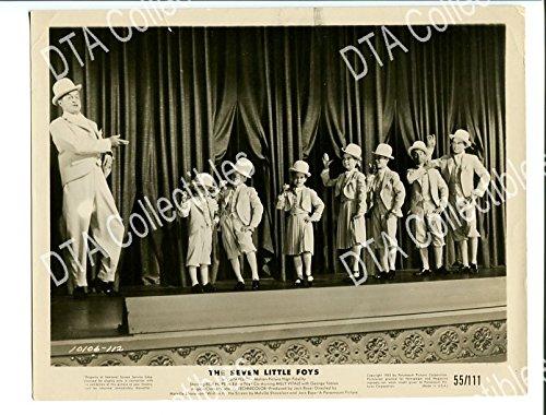 seven-little-foys-1955-8x10-promo-still-bob-hope-comedy-tap-dancing-vaude-vg