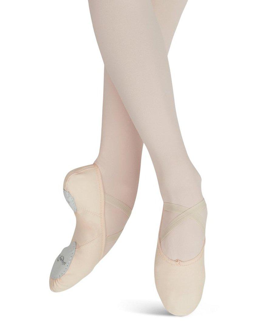 Capezio Women's Canvas Juliet Ballet Shoe,Black,6.5