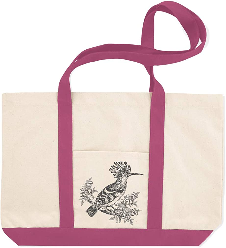 Canvas Shopping Tote Bag Bird Vintage Look A Animals Wild Bird Beach Bags for Women Vintage Gifts