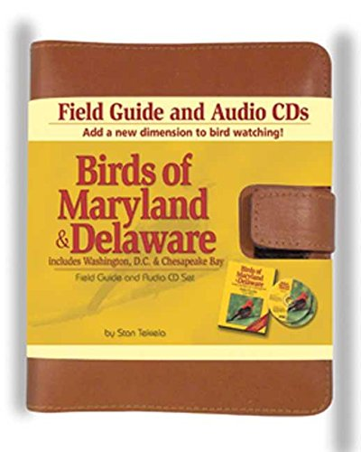 Birds Of Maryland & Delaware Field Guide and Audio Set (Bird Identification Guides)